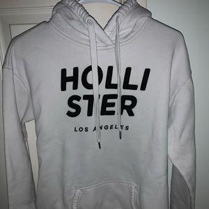 White Hollister Hoodie